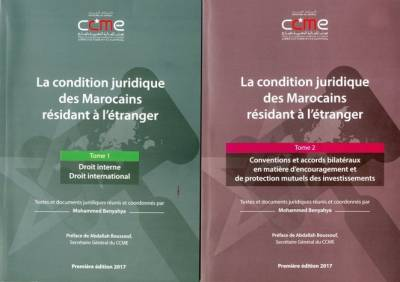 "Study : ""The legal status of Moroccans living abroad"""