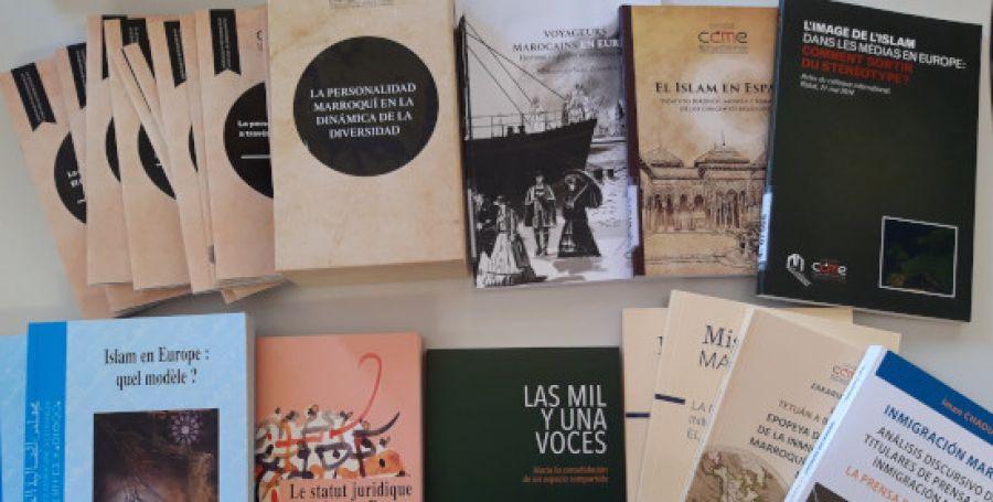 مجلس الجالية المغربية بالخارج يمنح مجموعة من مؤلفاته للمكتبة الإسلامية للوكالة الإسبانية للتعاون الدولي