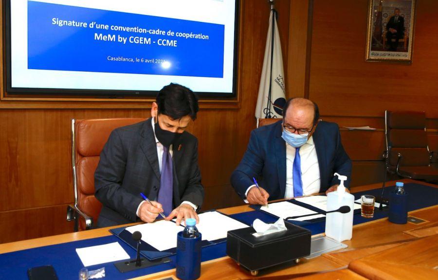 التوقيع على اتفاقية إطار للتعاون بين مجلس الجالية المغربية بالخارج والاتحاد العام لمقاولات المغرب