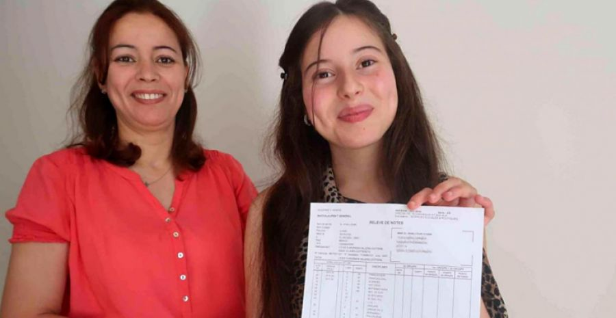 European students from Moroccan origin get the best grade in the bachelor degree