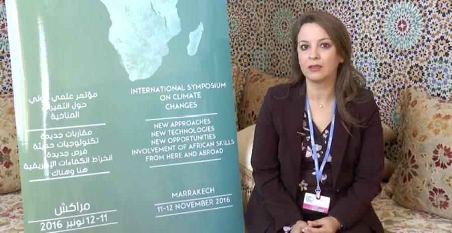 Entretien avec Mme Charafat Afailal, Ministre déléguée auprès du ministre de l'énergie, des mines, de l'eau et de l'environnement, chargée de l'eau